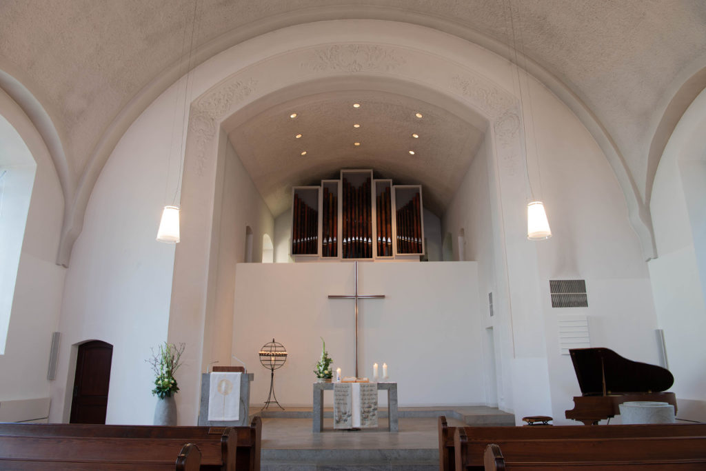 Christuskirche Altarbogen