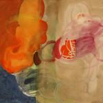 #G04/14, Aquarell, 2014, 40 x 40 cm