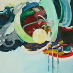 Wetterwringen, Acryl, 2014, 80 x 55 cm